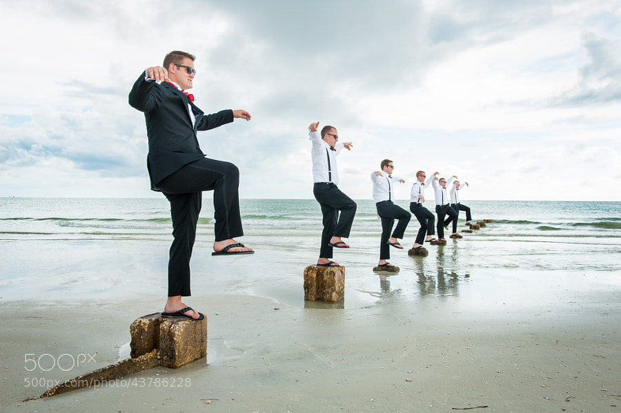 Photograph Groomsmen Kung Fu by Southern View on 500px