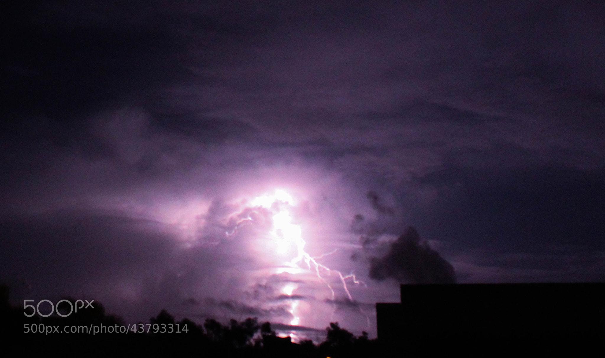 Photograph purple cloud. by Adriana Vazquez on 500px