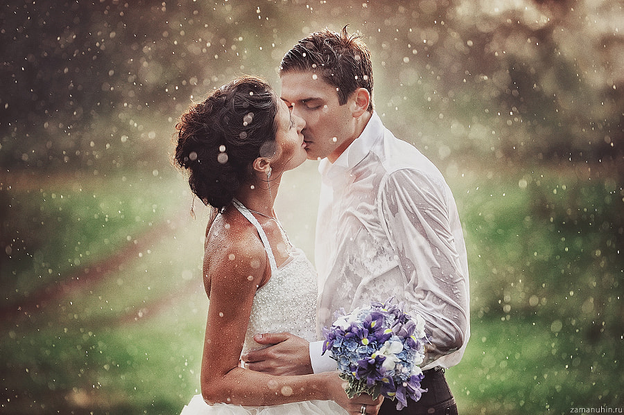 Wedding in the rain 3 by Ivan Zamanuhin on 500px.com