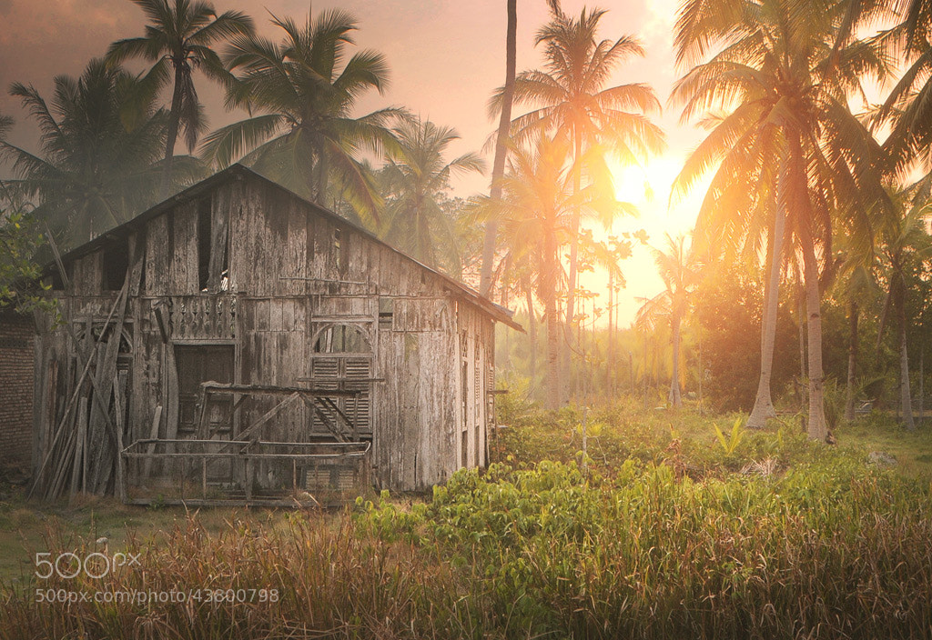 Photograph gubuk wak dollah by Teuku Jody  Zulkarnaen on 500px