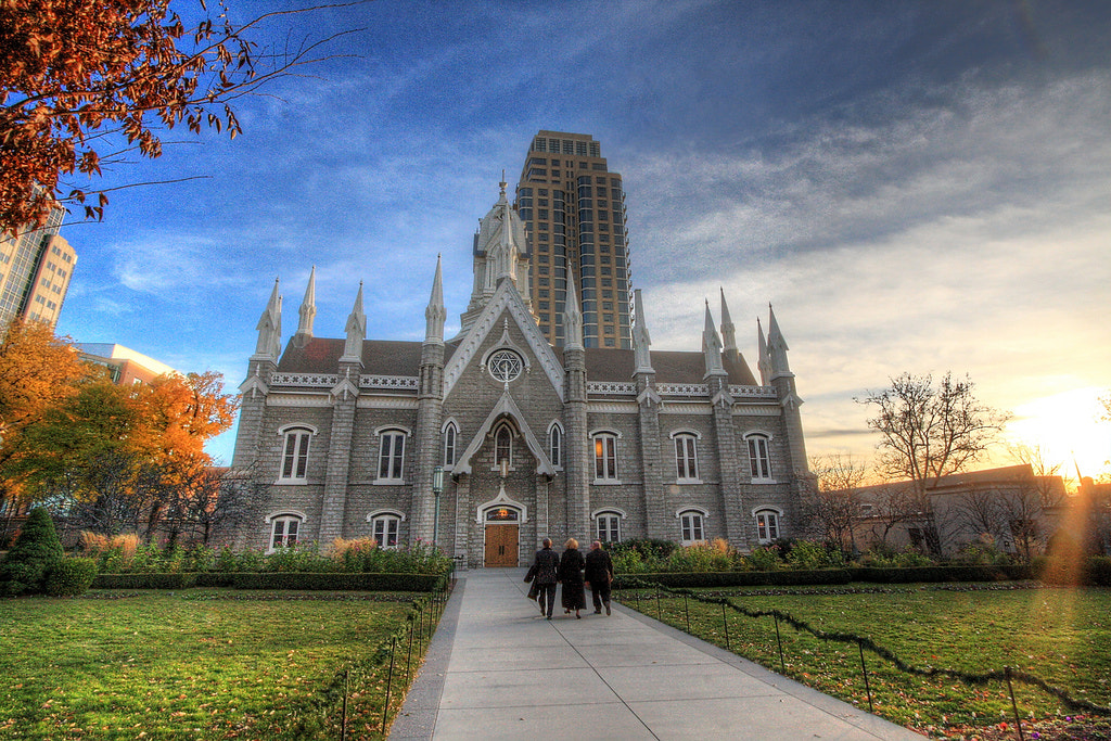 Photograph Historic Temple Square - Assembly Hall: HDR by Biju Chandroth on 500px