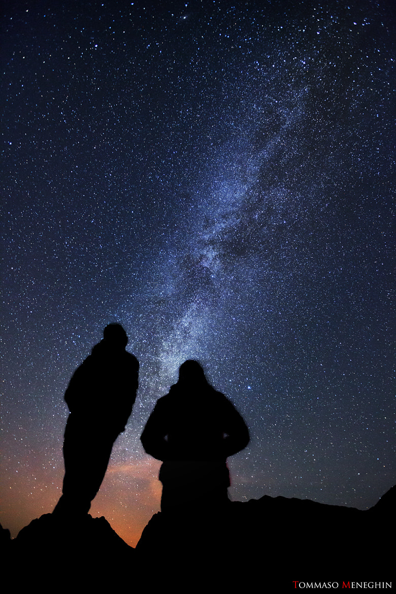 Photograph Tommy & Enri Under Milky Way by Tommaso Meneghin on 500px