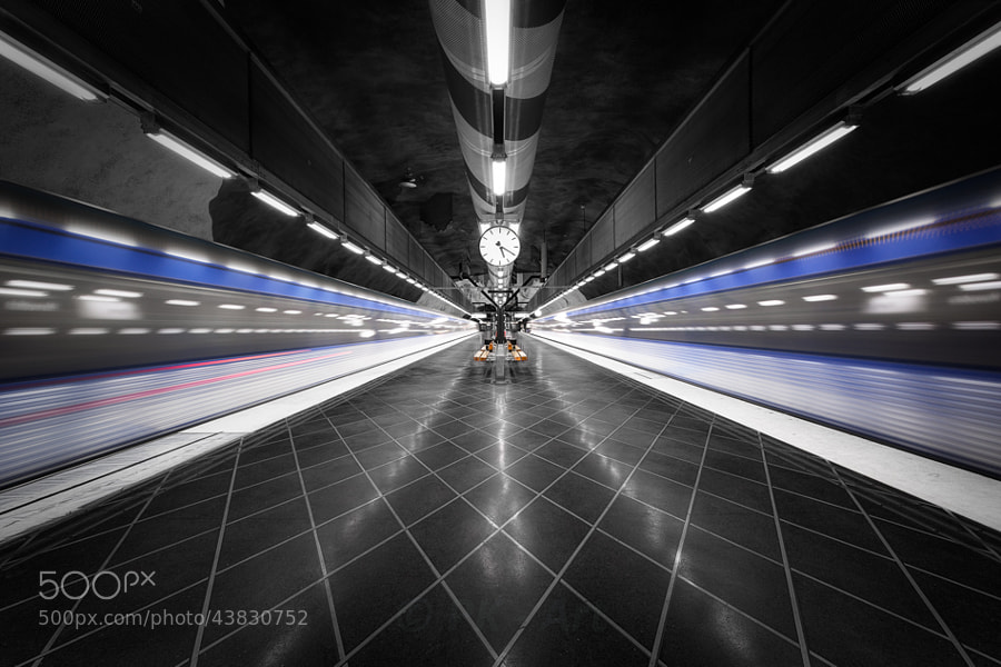 Photograph Too fast - Tunnelbana IX by PK  *** on 500px