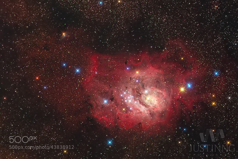 Photograph Lagoon Nebula M8 by Justin Ng on 500px