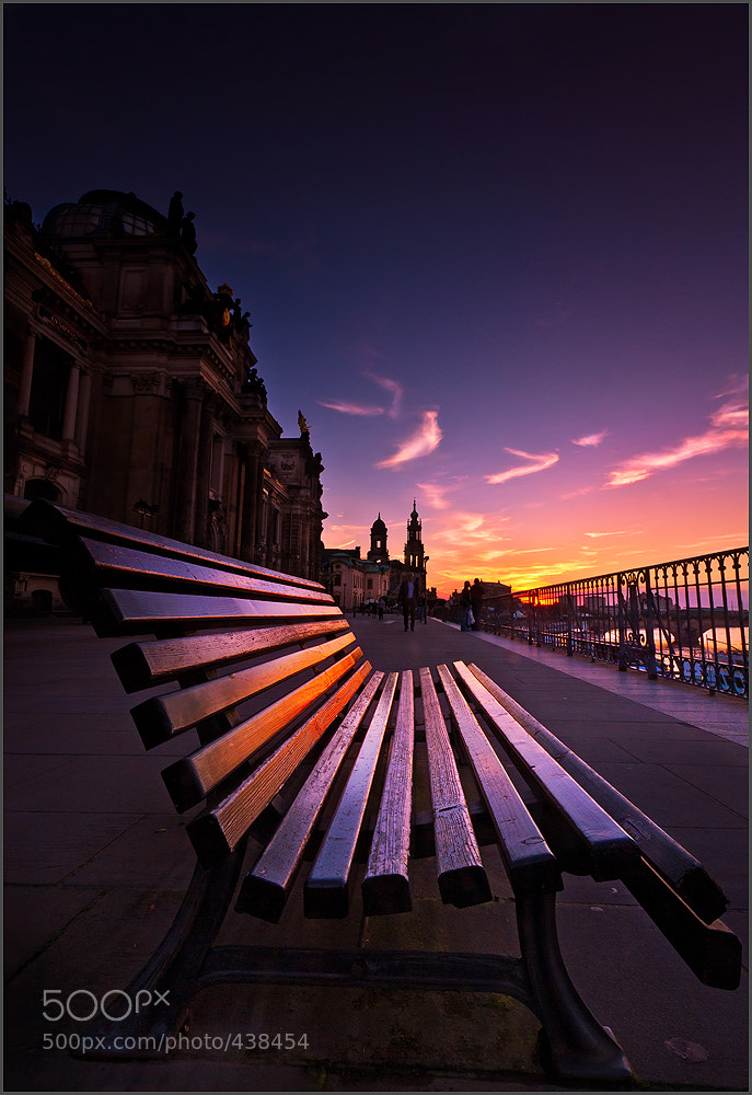 Photograph A bench in Dresden by Torsten Hufsky on 500px