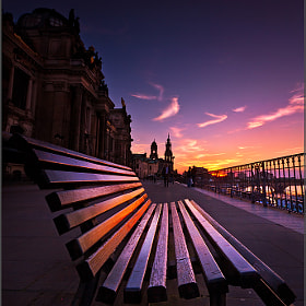 A bench in Dresden by Torsten Hufsky (Torsten_Hufsky)) on 500px.com