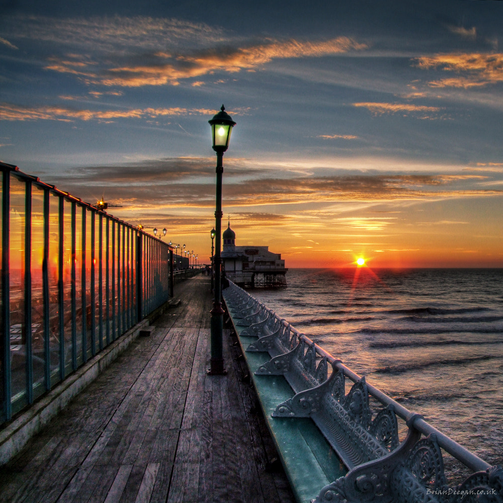 Photograph Blackpool Pier Sunset by Brian Deegan on 500px