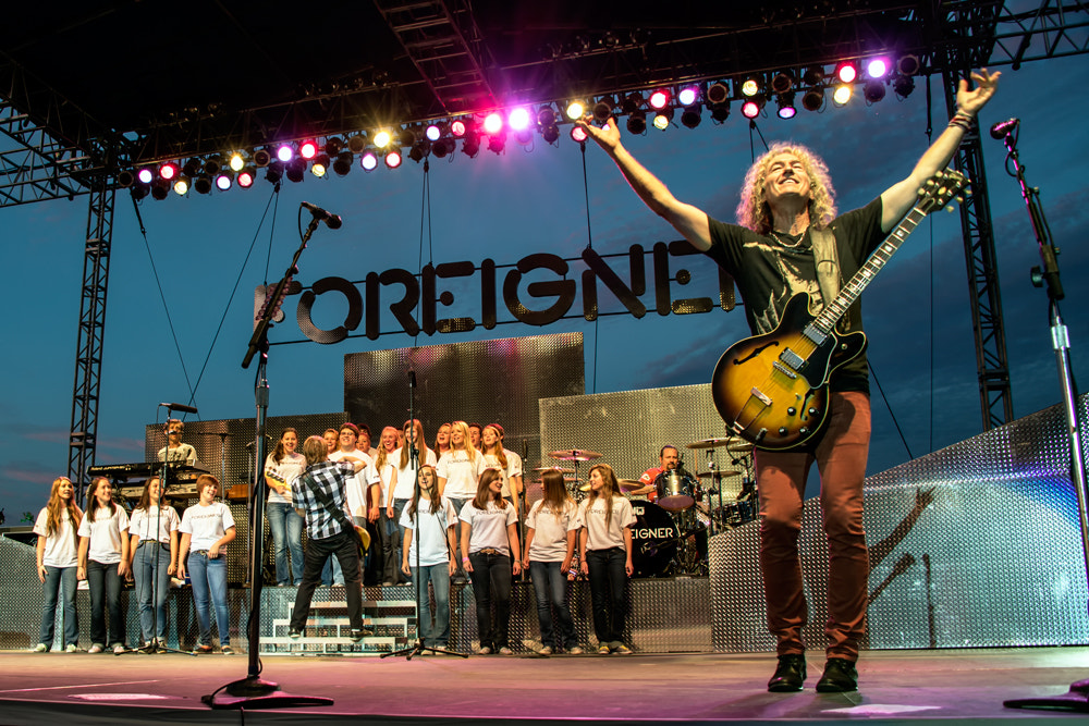 Photograph Timberline choir with Foreigner by Chad Estes on 500px
