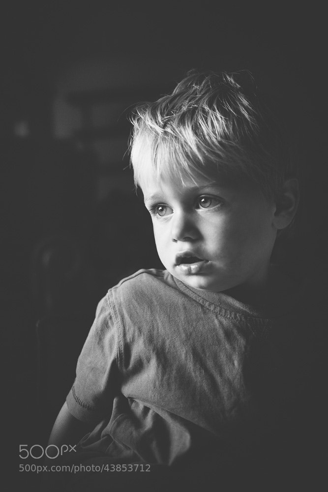 Photograph Tom Transfixed by TV by Matthew Dartford on 500px