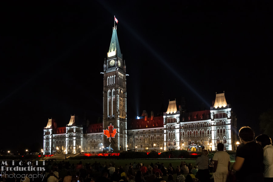 Mosaika Sound and Light Show 3 Ottowa Canada