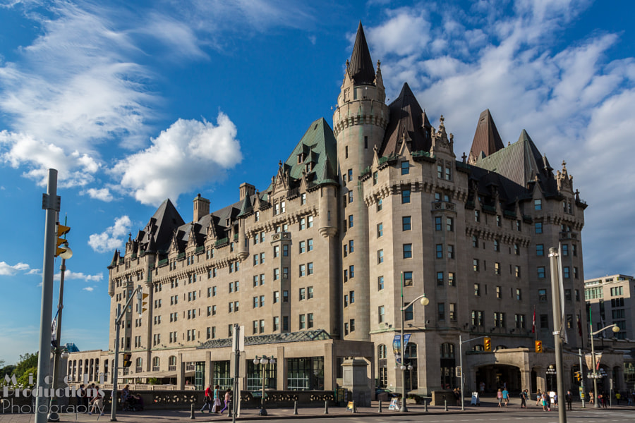 The Fairmont Château Laurier
