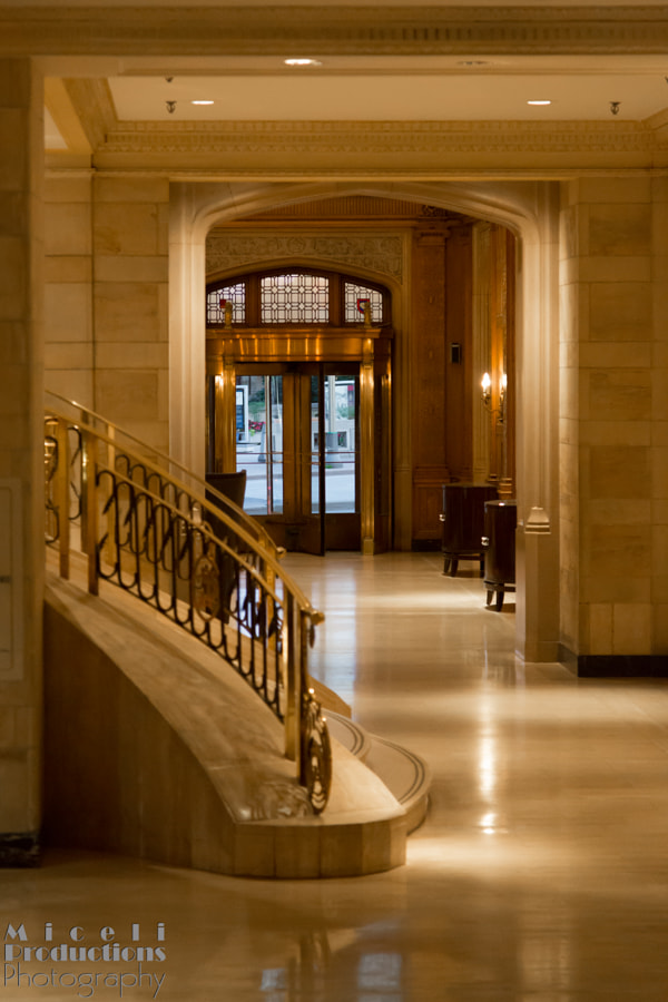 Structure- Inside The Fairmont Château Laurier, looking out