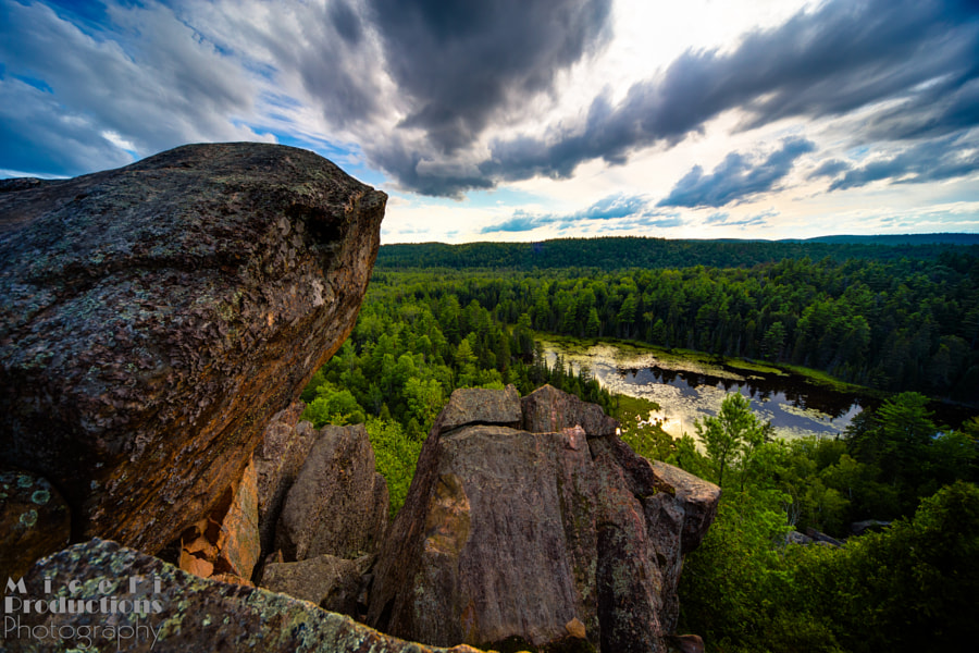 Eagle's Nest Trail Lookout, outcropping HDR, Ottowa Canada