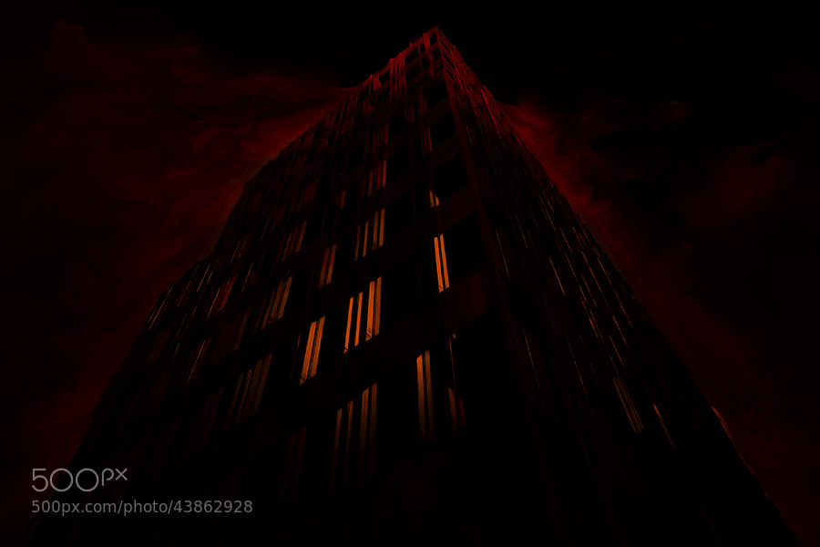 Photograph black tower by Gilbert Claes on 500px