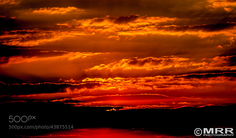 Photograph Burning Sky by MRRphotography on 500px