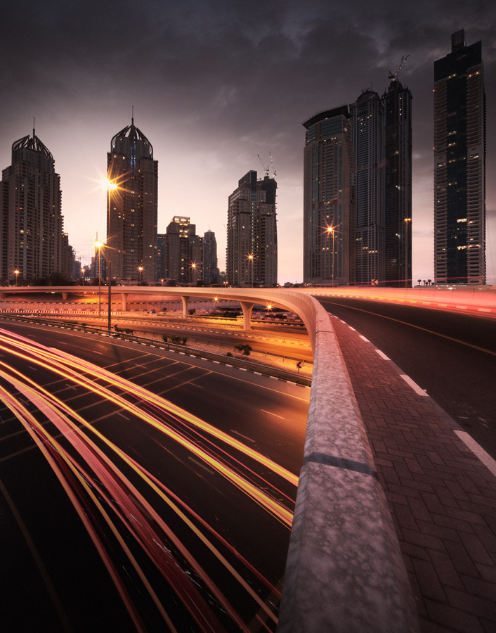 Photograph Light Trails by Alisdair Miller on 500px