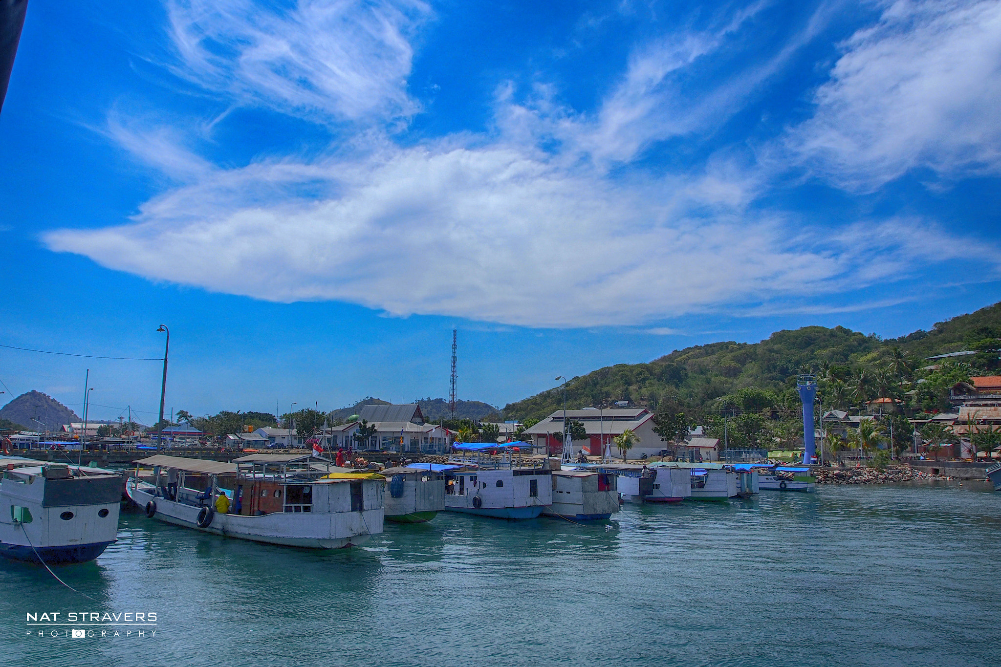 Photograph Labuan Bajo Port by Nathalie Stravers on 500px