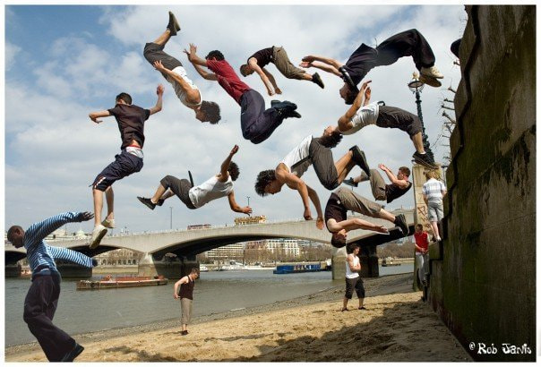 Photograph Parkour by Rob Jarvis on 500px