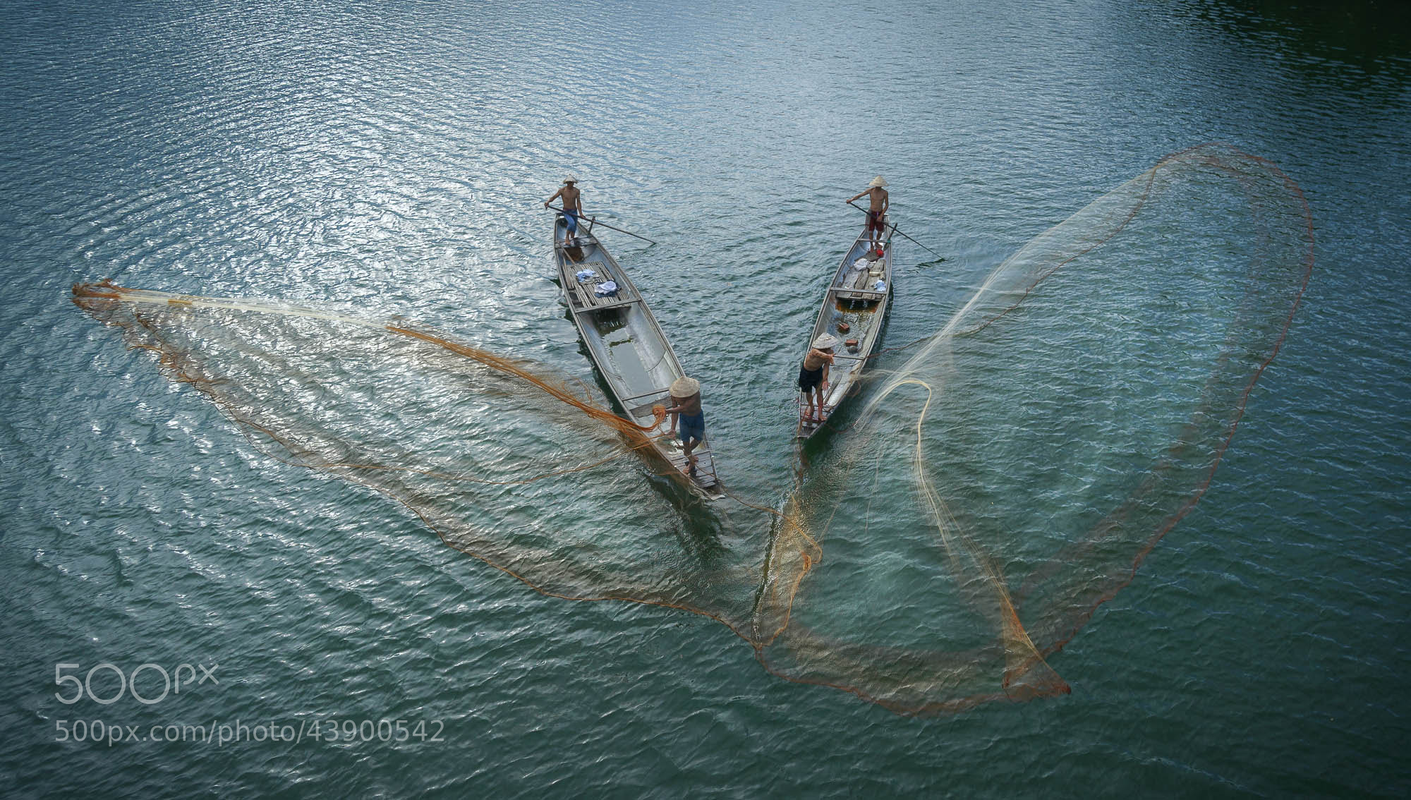 Photograph Fishing dance by Pham Ty on 500px