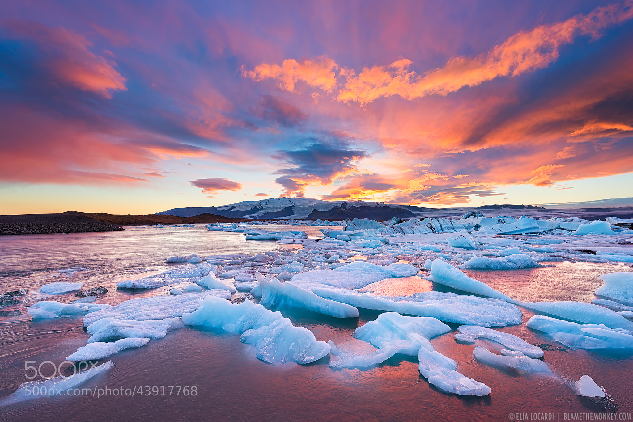 Photograph Colors of Jokulsarlon || Iceland by Elia Locardi on 500px