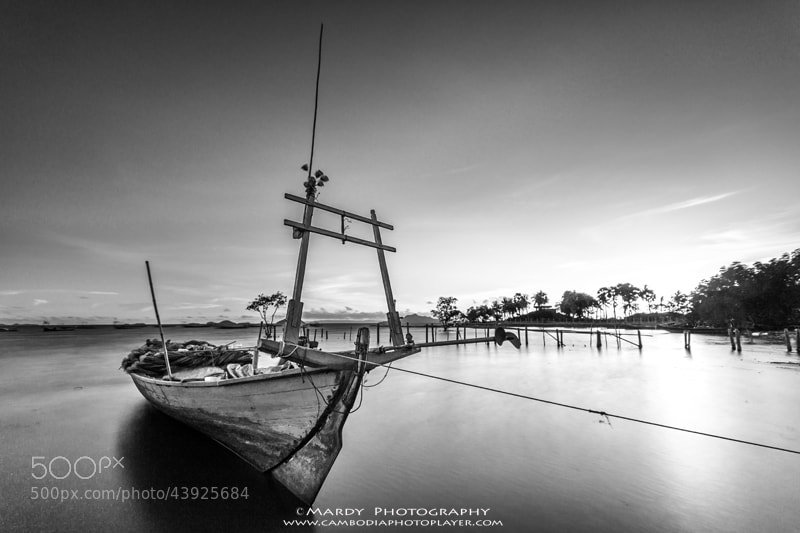 Photograph Fishing boat! by Mardy Photography on 500px