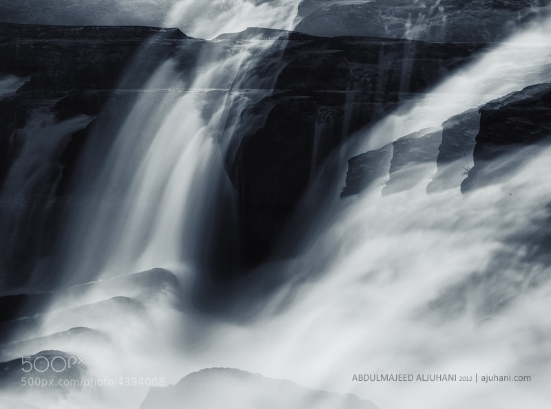 Photograph Waterfall waves by Abdulmajeed  Aljuhani on 500px