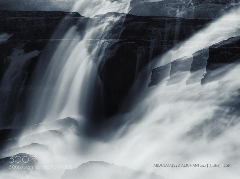 Photograph Waterfall waves by Abdulmajeed  Aljuhani on 500px