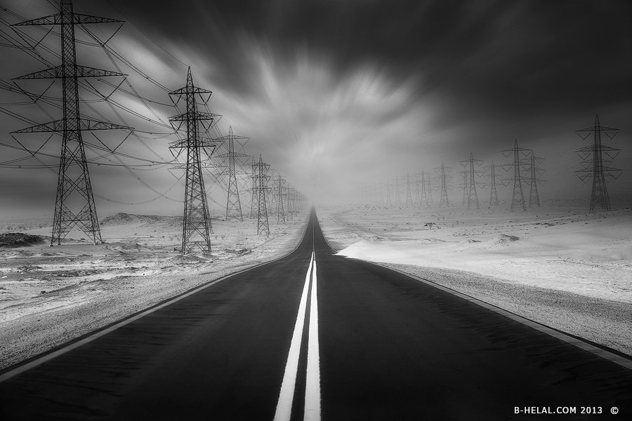 Photograph Road Infinite by Naja Helal on 500px