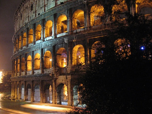 Photograph Night in Rome by Mwap38  on 500px