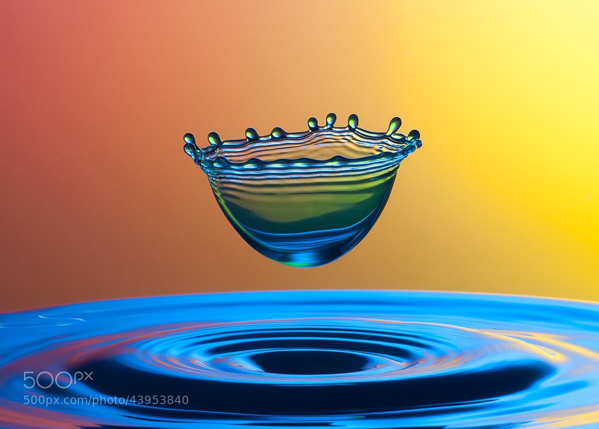 Photograph born of drop by mustafa yagci on 500px