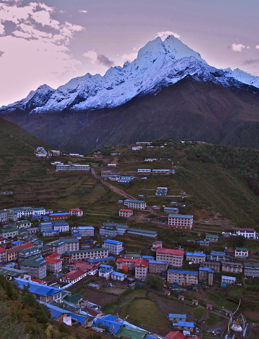 Photograph namche bazaar, nepal by Sean  Blacknell on 500px
