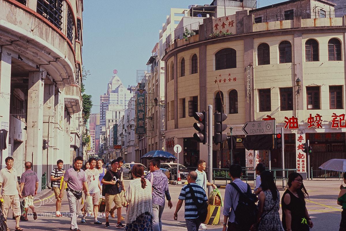 Photograph Macau Streets by Chris Ashworth on 500px