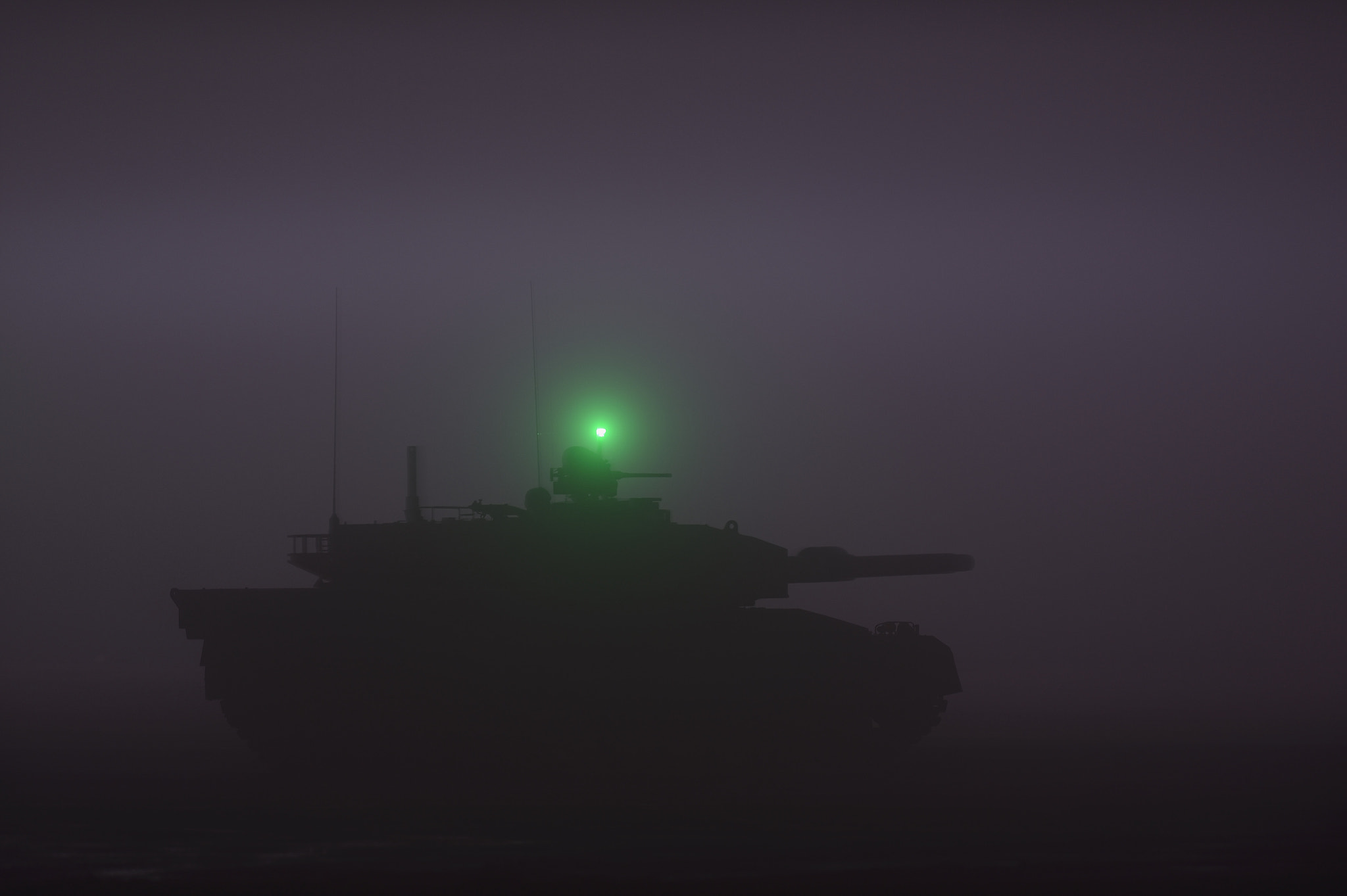Photograph The tank wrapped in a deep fog by Keith_TT on 500px