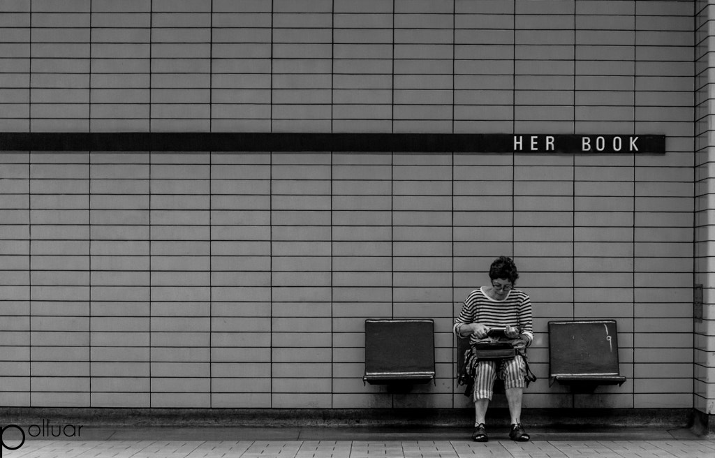 Photograph Her Book Station by Polluar  on 500px