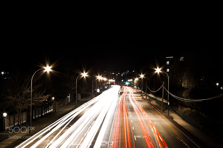 Photograph Traffic (Second Edit) by Tim March on 500px