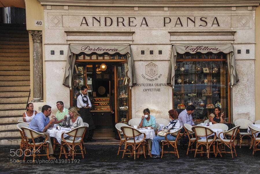 Break up at Andrea Pansa