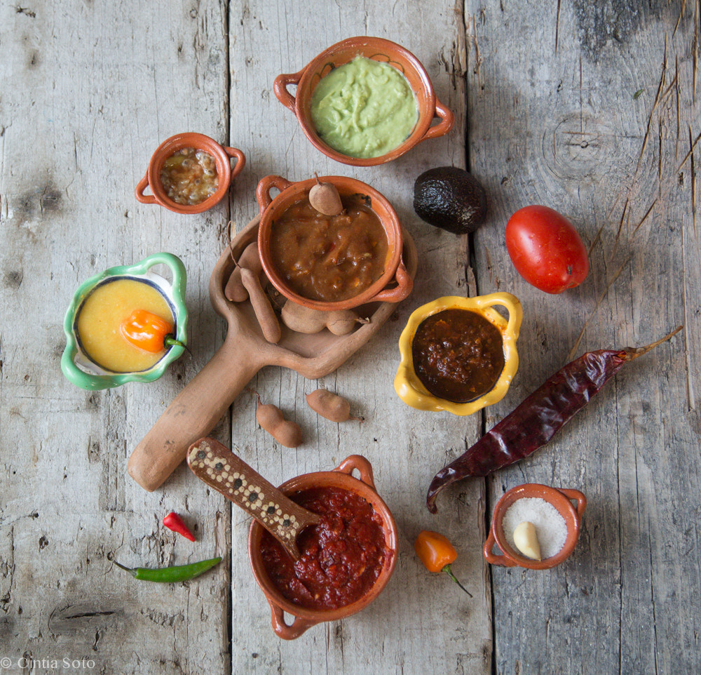 Photograph Mexican salsa one of a kind by Cintia Soto on 500px