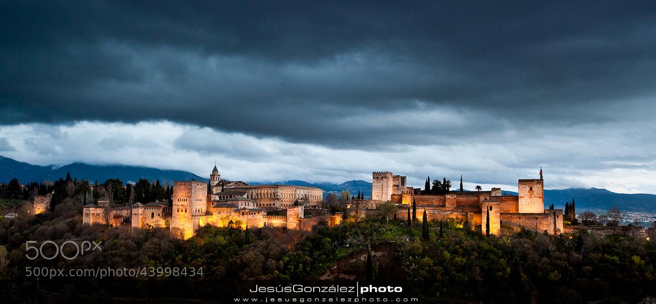 Photograph Sunset at La Alhambra by JesúsGonzález photo  on 500px