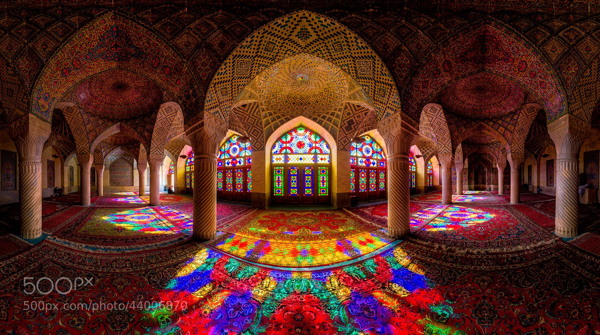 Photograph Nasir Al-Mulk Mosque Panorama by Mohammad Reza Domiri Ganji on 500px