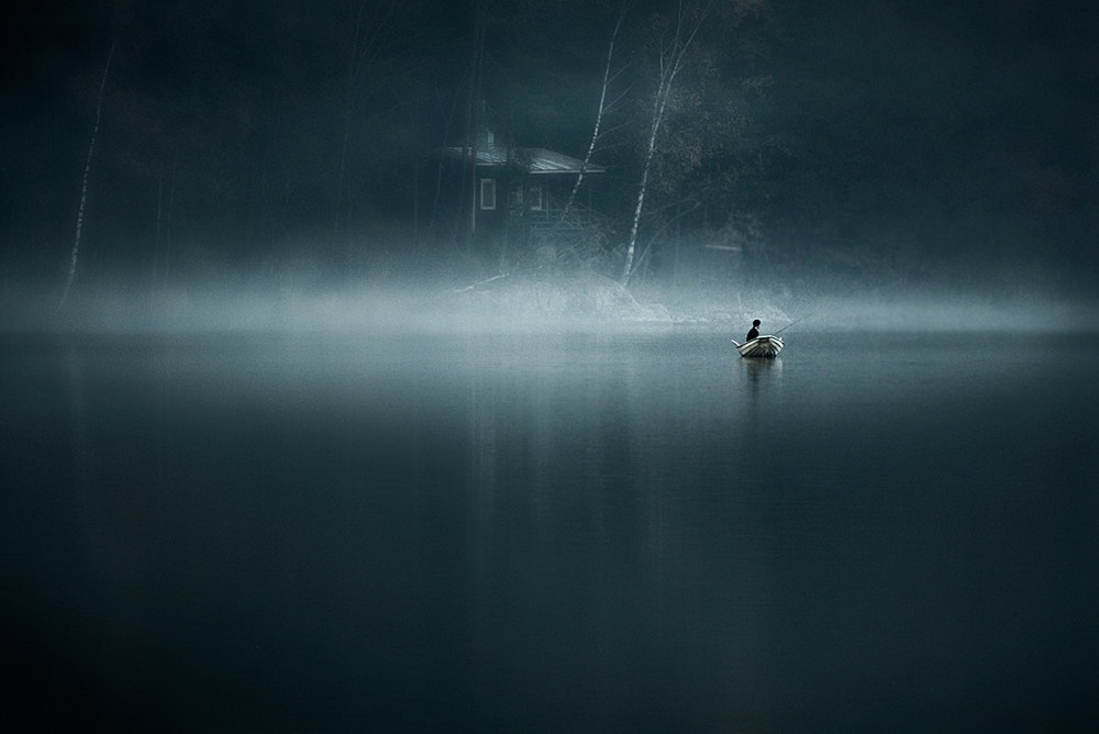 Photograph Moody Water by Mikko Lagerstedt on 500px