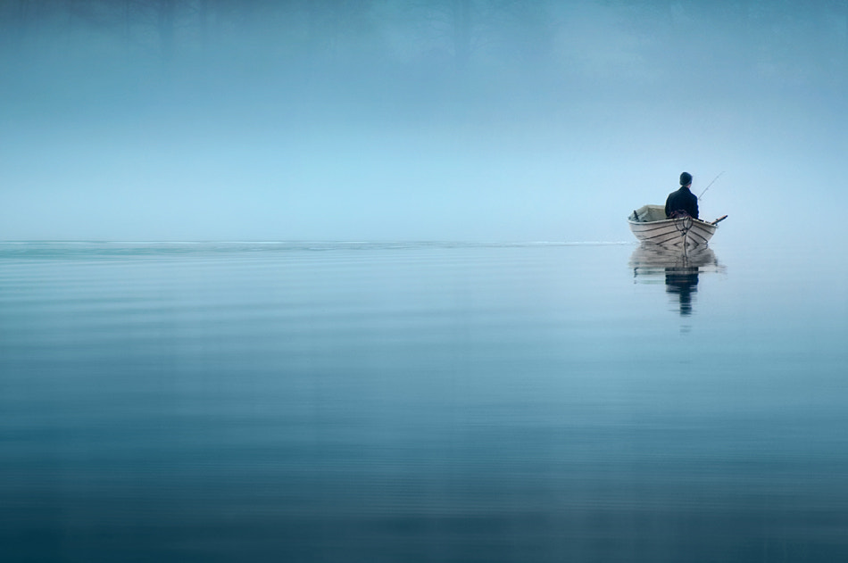 Photograph Lonely Fisher by Mikko Lagerstedt on 500px