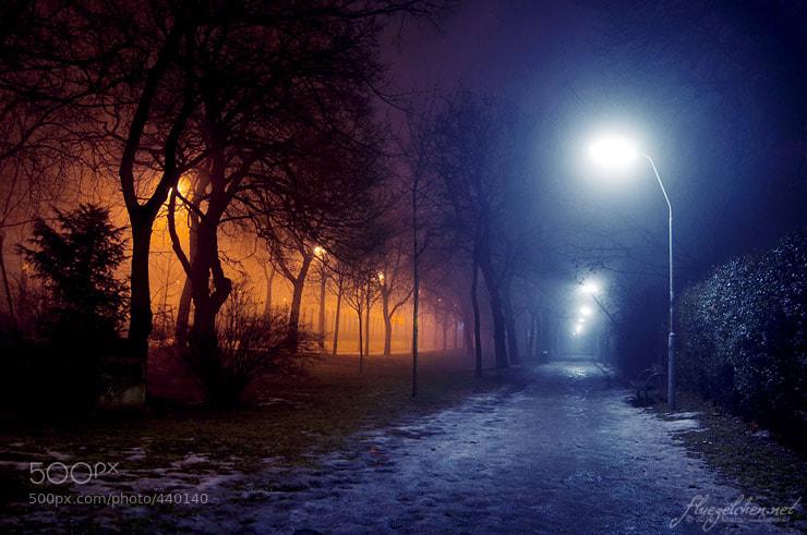 Photograph night nebula by Melanie Miedler on 500px