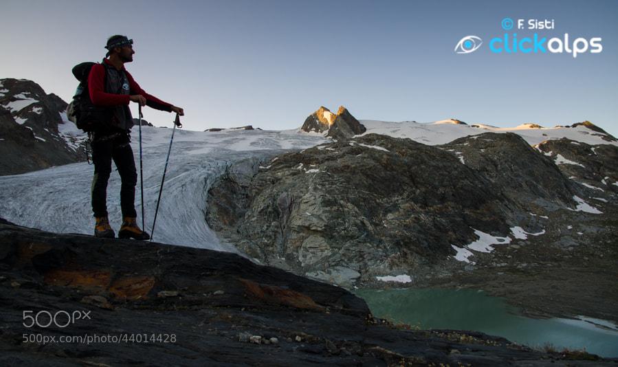 Photograph Nous et la nature sauvage - alla rimonta del Ghiacciaio del Rutor (Valle della Thuile, Valle d'Aosta by Francesco Sisti on 500px