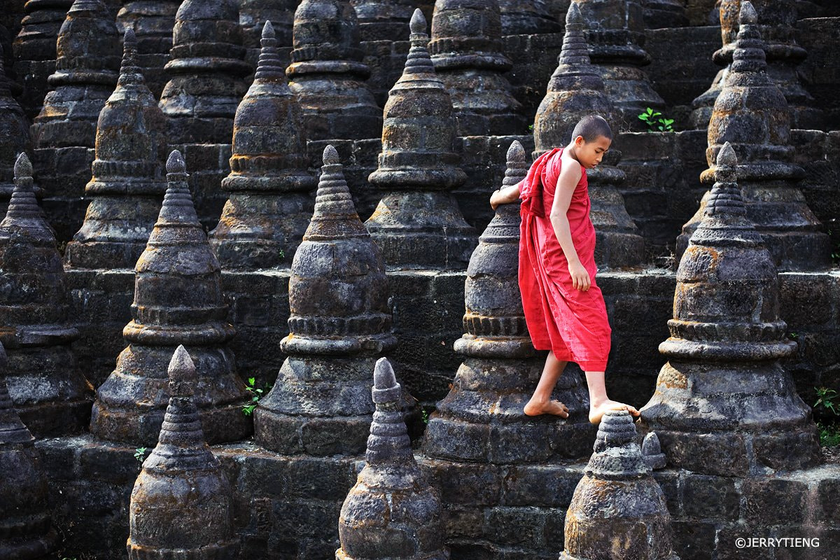 Photograph Monk by Jerry Tieng on 500px
