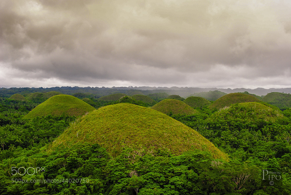 Photograph Chocolate Hills by Pipo De Jesus on 500px