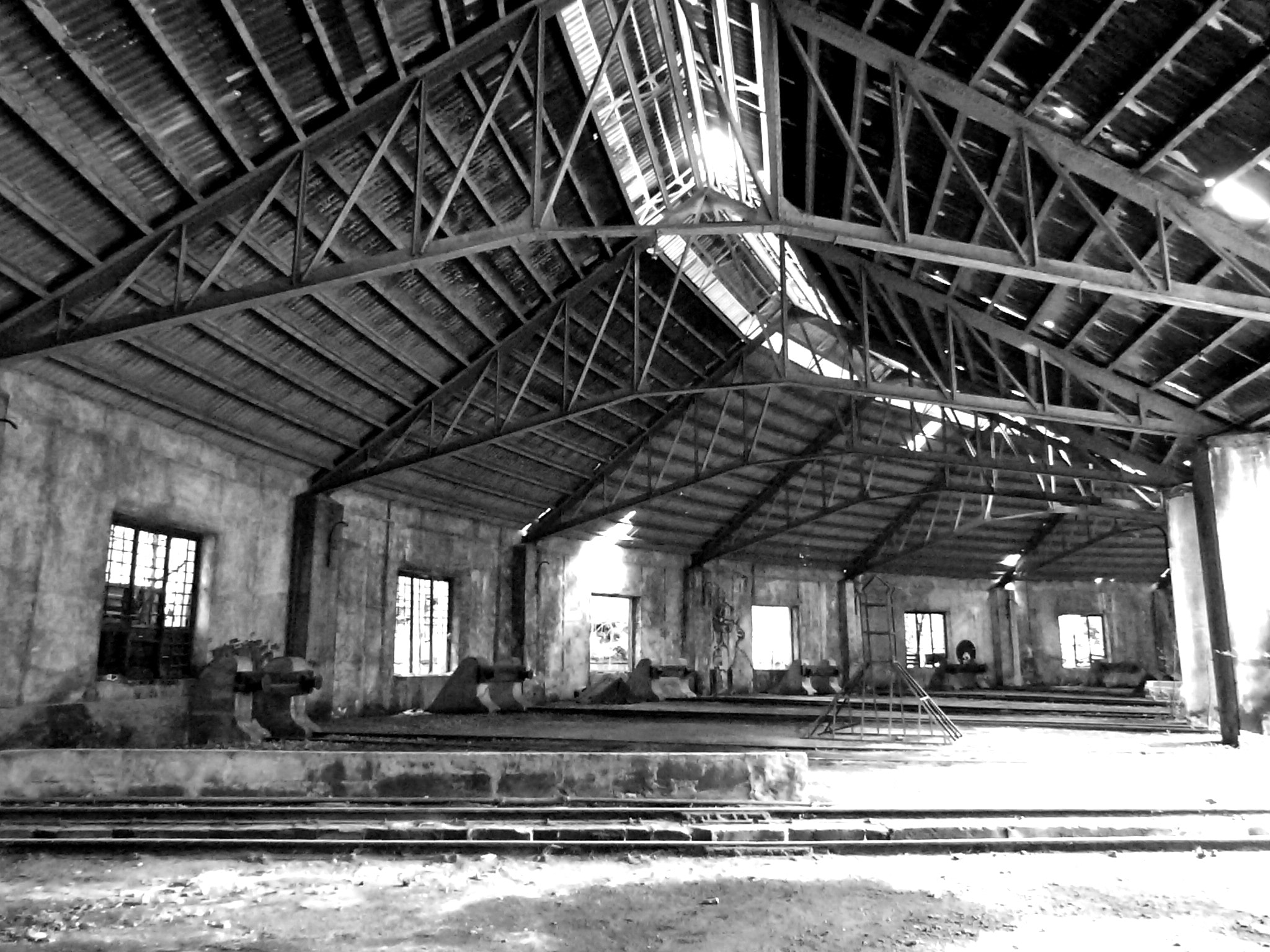 Photograph inside an abandoned railway station by Florence Guichard on 500px
