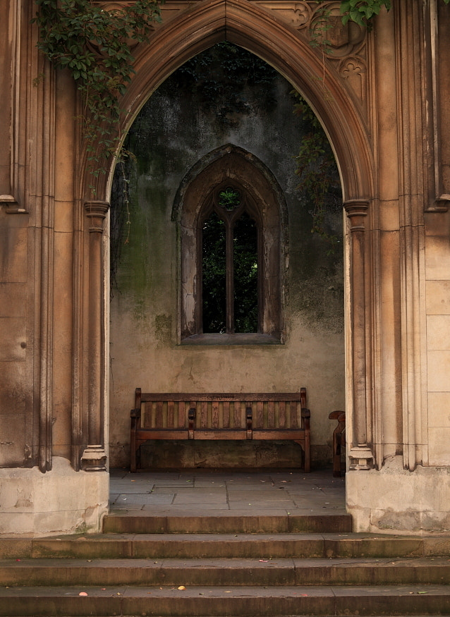 Arch & Window, St Dunstans in the East