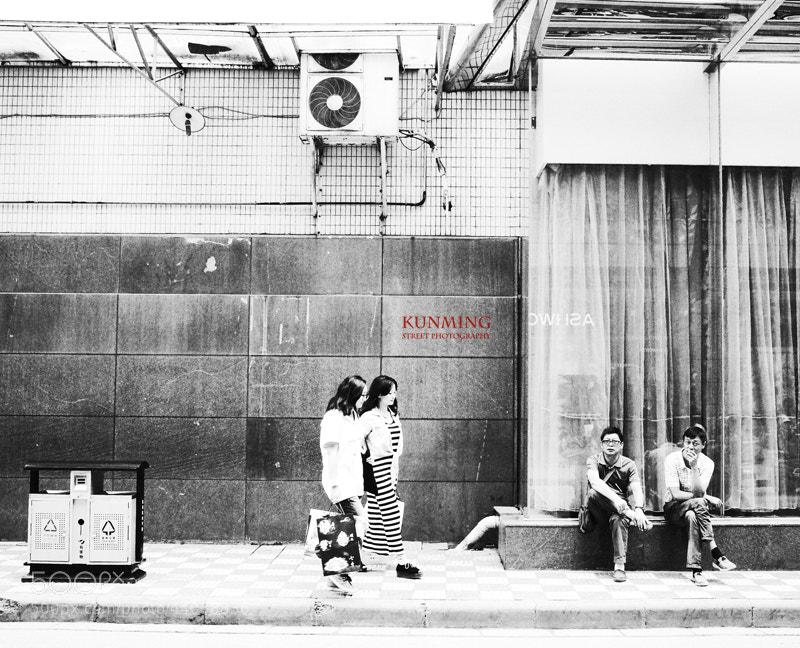 Photograph Kunming street photography by Zhu RenYan on 500px