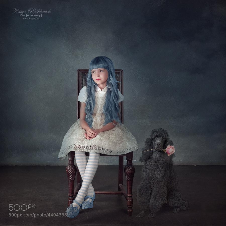 Photograph Девочка с голубыми волосами by Katya Rashkevich on 500px
