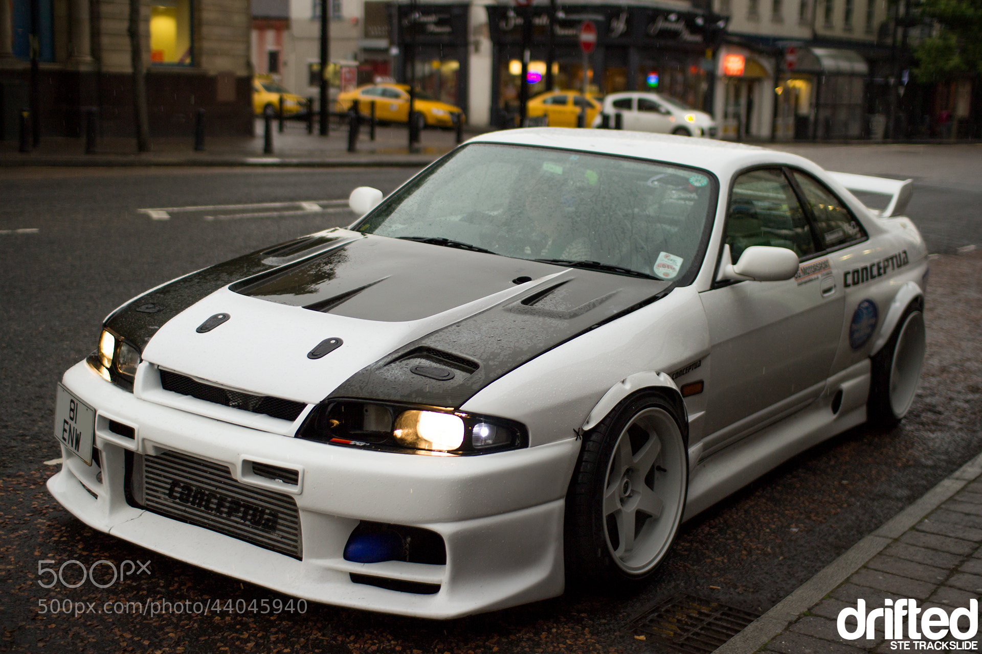 Photograph Hardcore Drift Skyline R33 on the Road... by Ste Trackslide on 500px